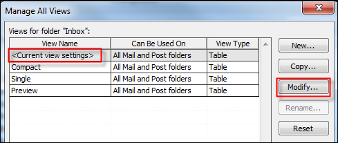 Turning the Reading Pane off in all folders