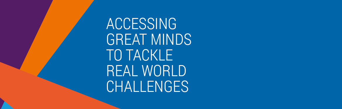 Accessing great minds to tackle real world challenges