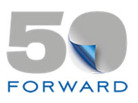 50Forward logo