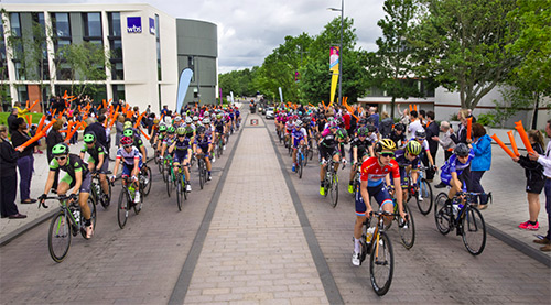 Photo of the 2017 Women's Tour
