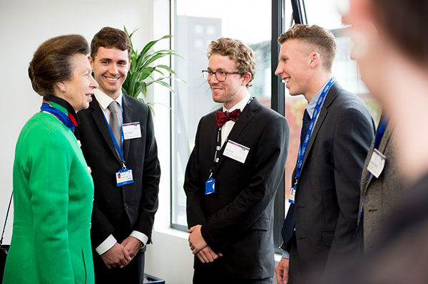 Princess Royal meeting Sabbs