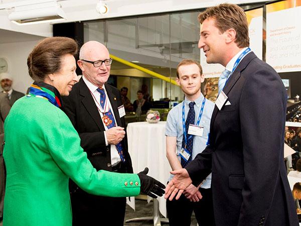 Princess Anne and Michael Stott
