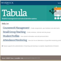 warwick tabula coursework management
