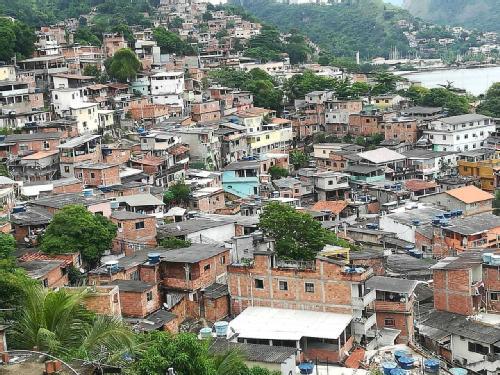 Morro Preventorio informal community, in Brazil