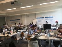 DSSG Fellows at work