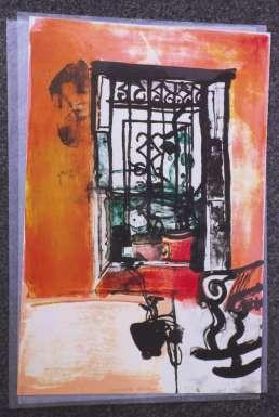 Spanish Window by Barbara Rae