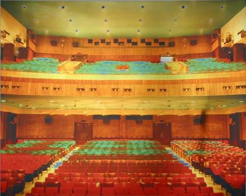 Cinema: Regal, 2001 by Catherine Yass