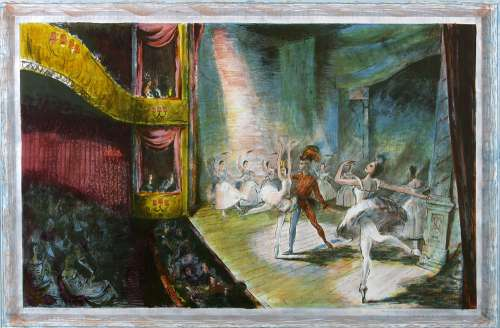 The Ballet by Charles Mozley