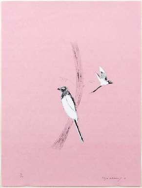 Magpie by Craigie Aitchison