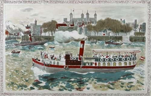 Tower of London by Edwin La Dell