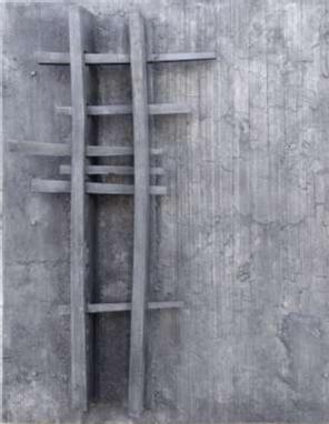 Slab and Bar Relief by Geoffrey Clarke