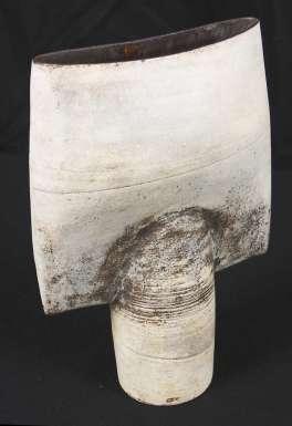Spade-shaped Vessel by Hans Coper