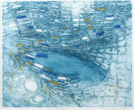 Blue Foreshore by (Henry) Charles Bartlett