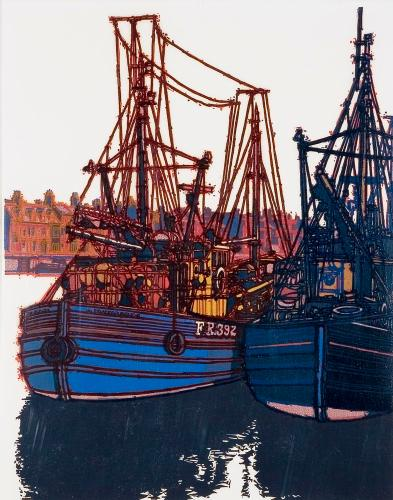 Fish Wharf / 9 by H J Jackson