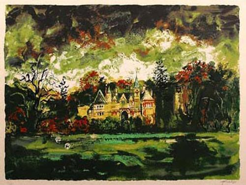 Ettington Park by John Piper