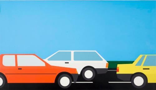 Cars? by Julian Opie