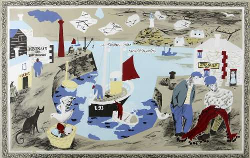 Harbour by Julian Trevelyan