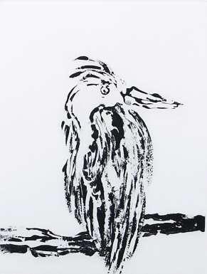 Heron by Michael Hale