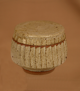 Lidded Bowl by Mike Dodd