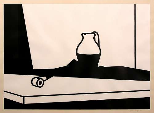 Pipe and Jug by Patrick Caulfield