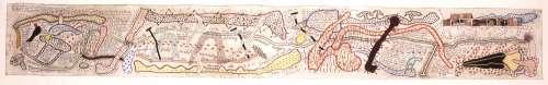 Parish Map, Old Milverton by Simon Lewty