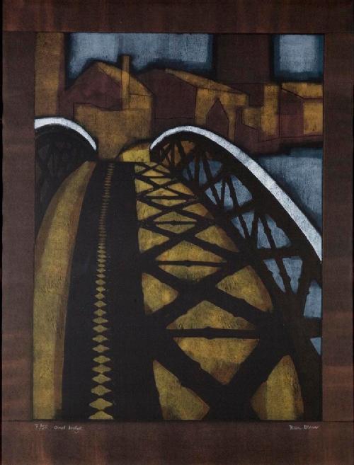 Canal Bridge (Birmingham Canal Series) by Tessa Beaver