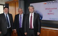 from left  Mr Huseyin Tanriverdi  - Professor Lord Bhattacharyya -  Mr Nihat Ergun