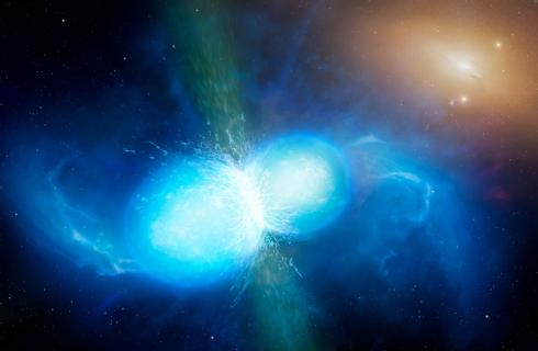 Collision created large amounts of the heaviest elements, such as gold, platinum and uranium, pumping them into space and unlocking the mystery of how they are formed