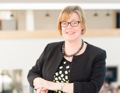 Professor Pam Thomas, Pro-Vice-Chancellor for Research