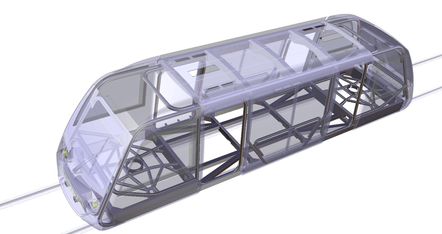 Newswise: Woven Light Rail Design wins Gold at JEC World 2020 Innovation Awards