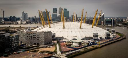 The O2 Arena. Credit: Davide D'Amico