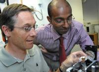 Dr Mark Pharaoh  (left) Dr Ramesh P Arasaradnam  (Right)