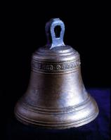 The bronze bell of the Mary Rose - an example of the kind of artefact which scientists are doing background research on. Credit: Mary Rose Trust.