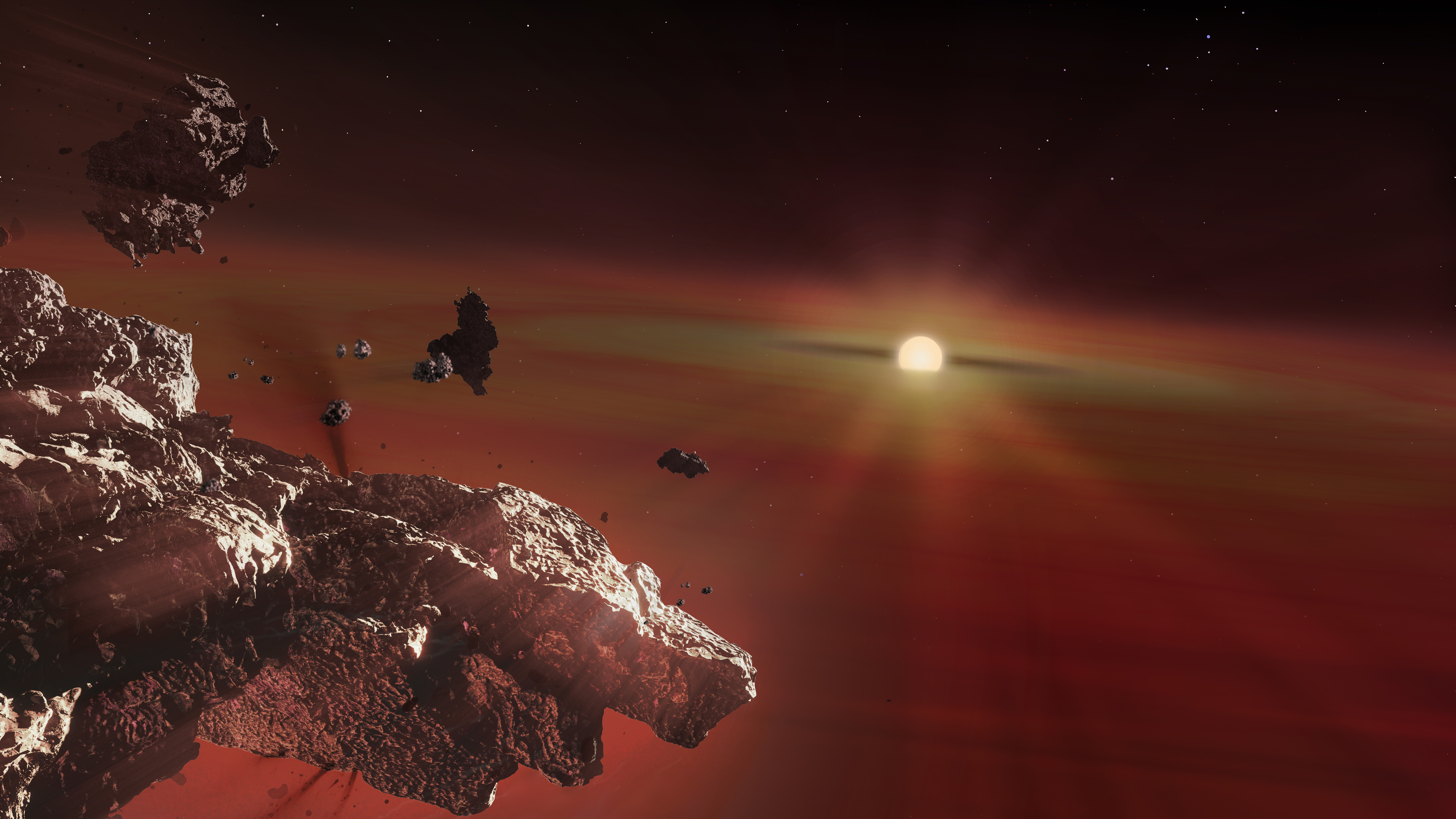 Remains of Rocky Planets Found In Dying Stars