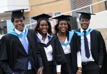 Quadruplets graduate