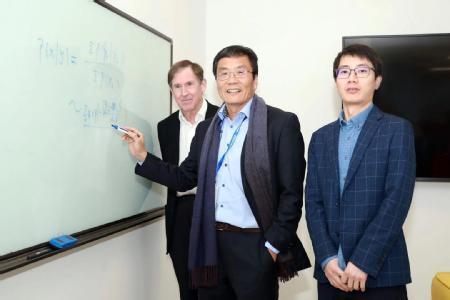 Professor Edmund Rolls, Professor Jianfeng Feng and Dr Wei Cheng