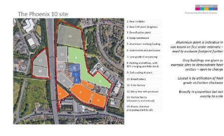The Phoenix 10 site in the Black Country
