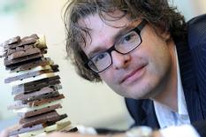 Dr Stefan Bon has found a way to replace up to 50 per cent of chocolate