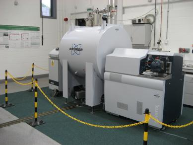 The FT-ICR MS instrument used in the study.