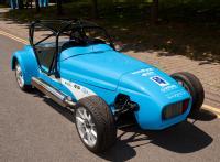 WorldFirst Hybrid Westfield racing car