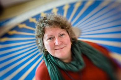 Professor Sandra Chapman of the Centre for Fusion, Space and Astrophysics