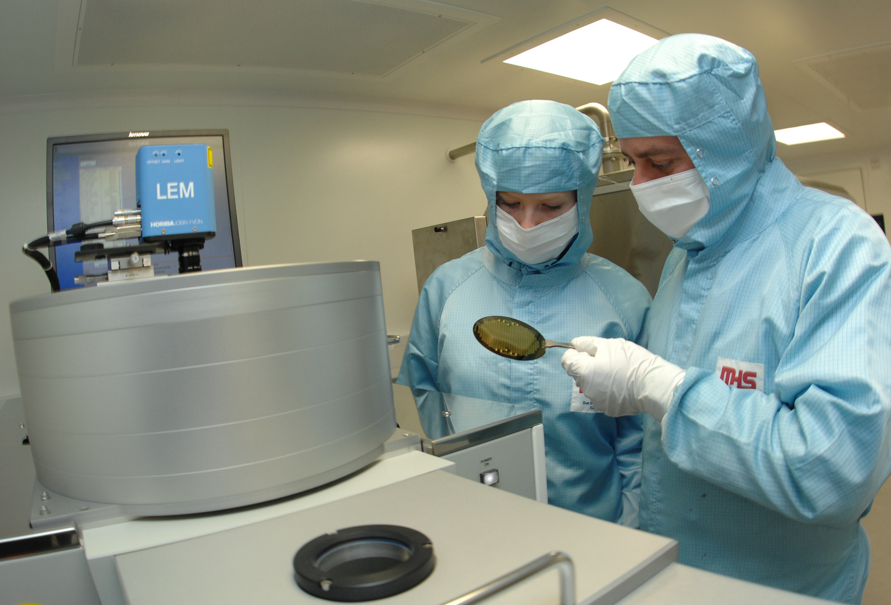 Clean Room: High Tech Cleanroom Opening Marks £10 Million Investment