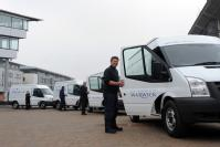 Warwick has added five new Ford Transit electric vans to is Low Carbon fleet