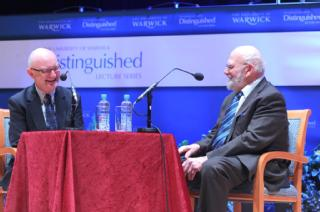 Dr Oliver Sacks being interviewed by Warwick