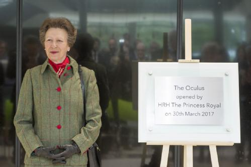 The Princess Royal officially opens University of Warwick's new teaching building