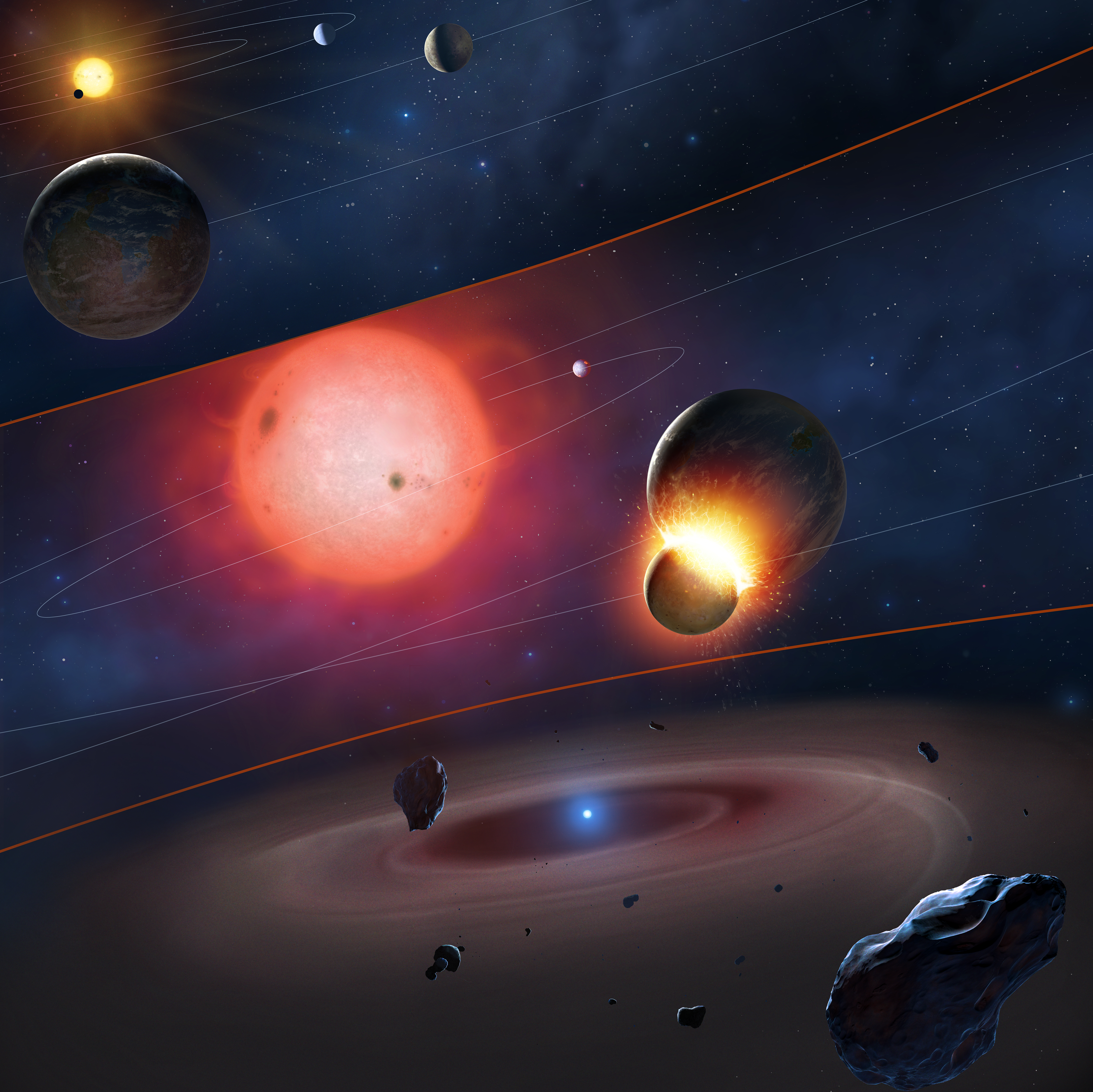 Solar System S Death Glimpsed In White Dwarf Stars Wired
