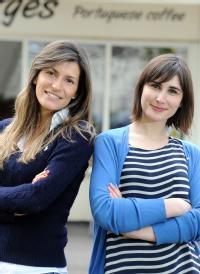 L-R Vânia Horta de Passo and Joana Lourenço