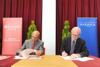Emilio Botín, Chairman of Santander, and University of Warwick Vice-Chancellor Professor Nigel Thrift