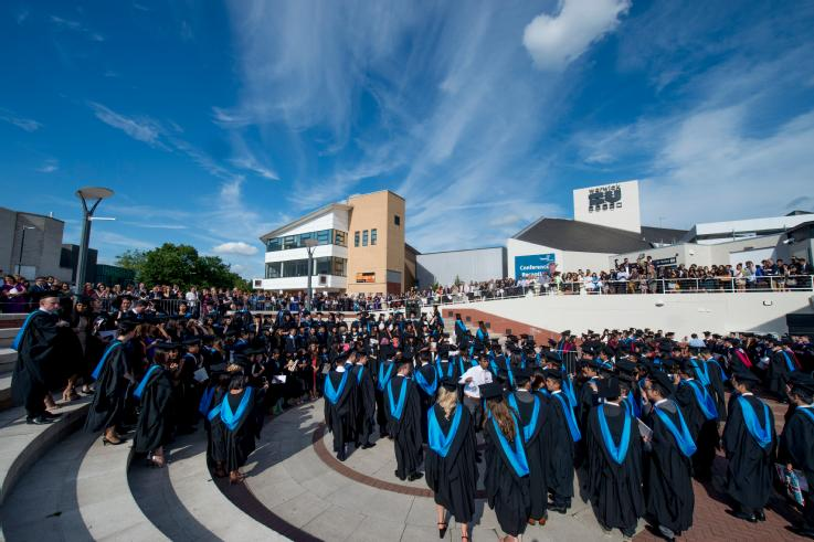 Graduation at the University of Warwick