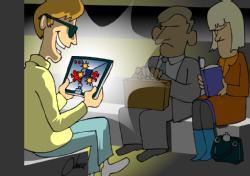 Cartoon on HDR